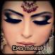 Eyes makeup by Heidi Haptonseahl