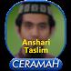 Anshari Taslim Mp3 by Hikmah Islam