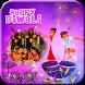 Diwali Photo Frame by TopWallpaper