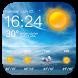 Temperature & Weather Clock App