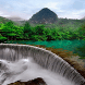 Green Land Waterfall LWP by Daksh Apps