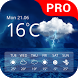 Weather Pro by Droid Team (weather, forecast, radar, widget)