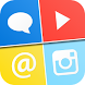 Social Media 5 in 1 by Mouddther Ahmad Taher Mustafa