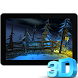3D Winter Forest Live WP by Arthur Arzumanyan