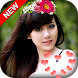 Photo Booth Flower Crown Heart Effect - Crownify by Devbhoomi Apps
