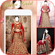 Indian Bridal Wedding Dress Photo Frame Editor
