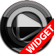 Poweramp widget BLACK Black by TapaniLab