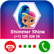 Calling Shimmer Shine Princess by Coloring and Call Apps