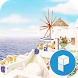 Travel Santorini Theme by SK Planet for Launcher Planet Theme