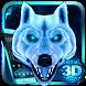 3D Ice White Wolf Theme by Elegant Theme