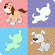 Cute Puppy Match Game by BuaGameSoft