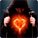 Fire Heart Live Wallpaper by AndApplique