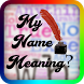 My Name Meaning by WhiteWings App