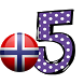 norwegian number memory game by french4you