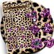Pink Gold leopard Print Theme by fancy themes