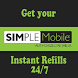 Simple Mobile Instant Refills by Mobile Domination Authorized Reseller