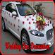 Wedding Car Decoration by awanapp