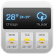 Dashboard Weather Forecast App by Weather Widget Theme Dev Team