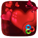 Hearts GO Launcher by GO T-Me Launchers