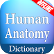 Human Anatomy Dictionary by Hybrid Dictionary