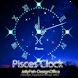 12星座☆魚座アナログ時計ウィジェット by jfd
