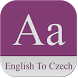 English To Czech Dictionary by droidworldsol