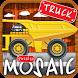 Animated puzzles trucks