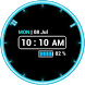 Neon Clock Widget [Free] by Us Droid