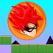 RED SUPER SAYAN - BALL BOUNCE by HC apps
