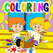 Children Coloring Book by Endyanos-imedia