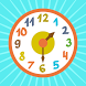 Clock time game hours, minutes by WhisperArts Books