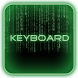 Green Glow Code Keyboard Skin by Mariux