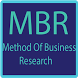 MBR - Methods of Business Research by Sumbul Rajput