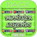 Hack For Monster Legends Game App Joke - Prank. by All Apps Hacks Here