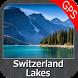 Switzerland Lakes GPS Map Navigator by FLYTOMAP INC