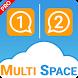 Multi Space : Run Parallel App (Pro) by Nu-Dime Studios