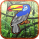 Fruit Toucan Jungle by Droid Casual