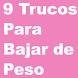 9 Trucos para bajar de peso by Hippa Studio