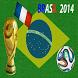 News-Bleus Coupe du monde 2014 by crowmosta