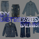 DIY Distressed Denim by ALF Digital