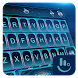 Purple Water Magic Keyboard Theme by Love Free Themes