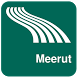 Meerut Map offline by iniCall.com
