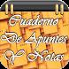 Cuaderno de Apuntes y Notas by FrasesImagenes