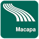Macapa Map offline by iniCall.com