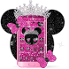 Minny Glitter Queen Theme by Launcher Fantasy