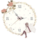 *sweet* Analog Clock Widget by SWEET Style