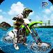 Beach Stunt Bike Water Surfer Racing 2017 by Hawks Heaven