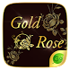 Gold Rose GO Keyboard Theme by GOMO Dev Team