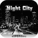 Тема eXPERIAmz - Night city by ChatApps