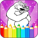 Coloring Pages - Masha & Bear by Coloring Games Lab